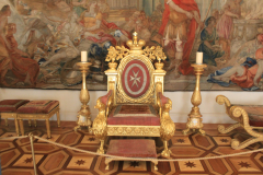 imperial throne in the winter palace