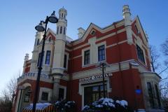 здание возле станции метро Черная речка