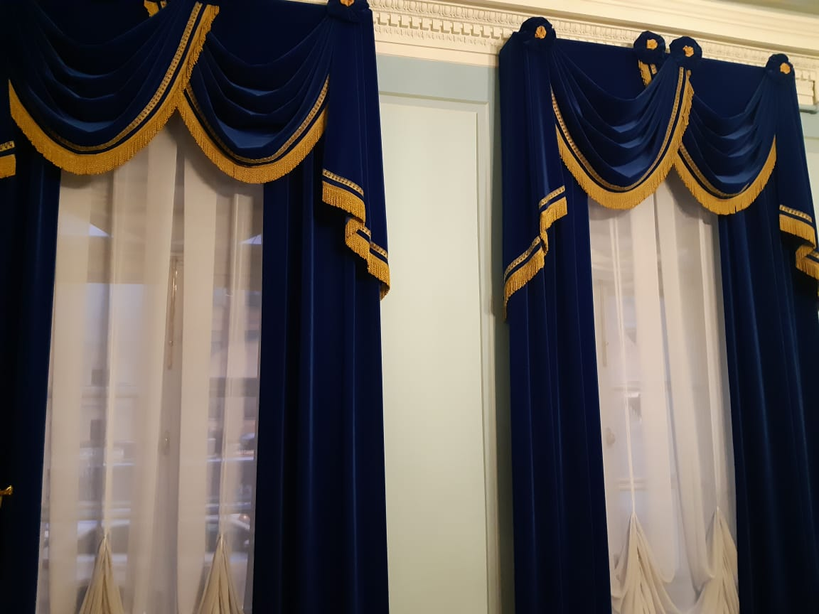 Окна на Мойку в музее Пушкина