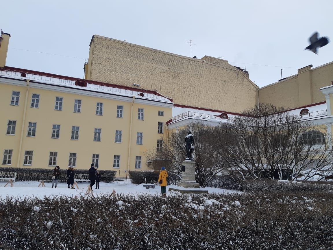 Внутренний двор Музея Квартиры А. С. Пушкина