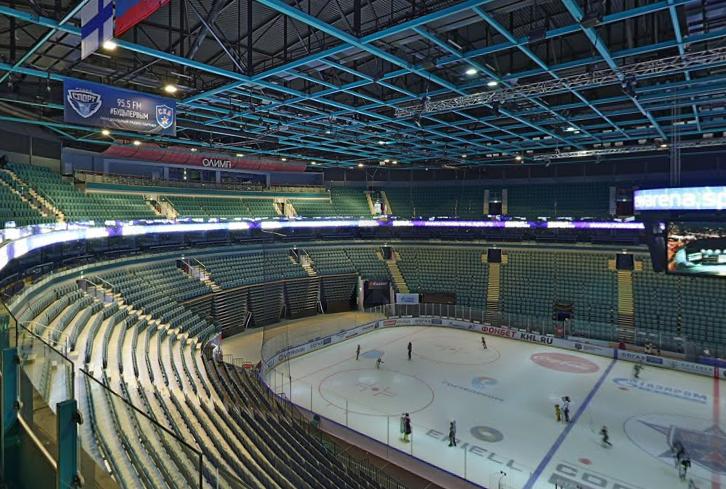 Спортивно-концертный комплекс «Ледовый дворец»