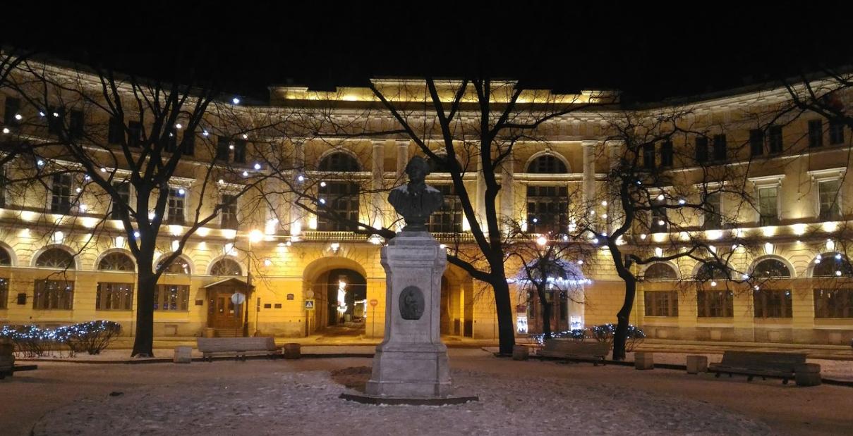 Площадь Ломоносова фото