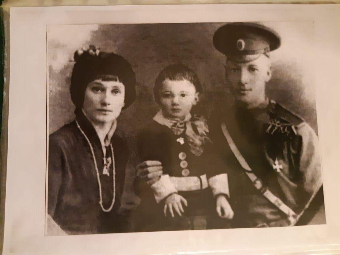 Гумилев Николай Анна Ахамтова и их сын Николай Гумилев