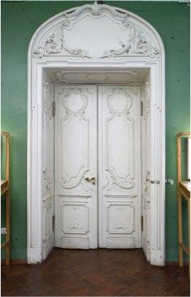 Дверь в гостиную Набоковых