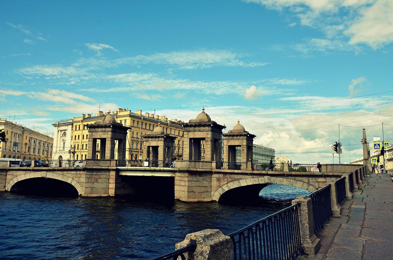 Мост Ломоносова фото