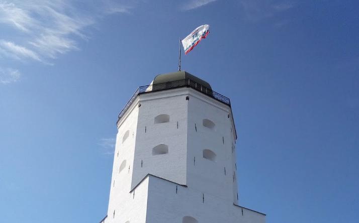 Выборгский замок башня