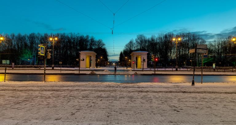 Площадь Чернышевского Парк Победы