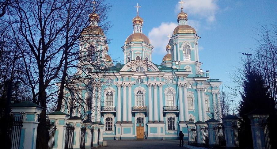 Никольский морской собор в Петербурге