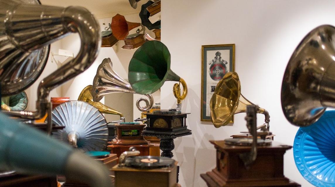 Музей граммофонов и фонографов в Петербурге