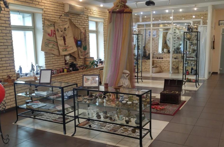 Музей Кофе экспонаты