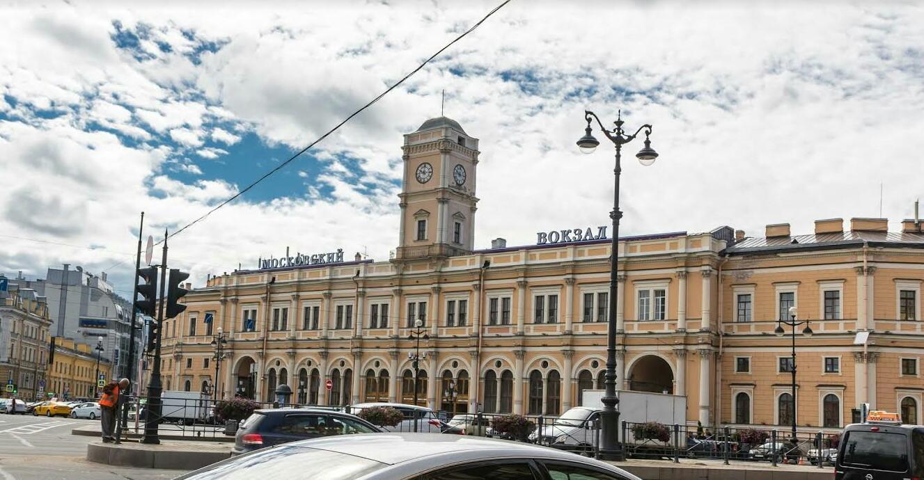 Московский вокзал фото