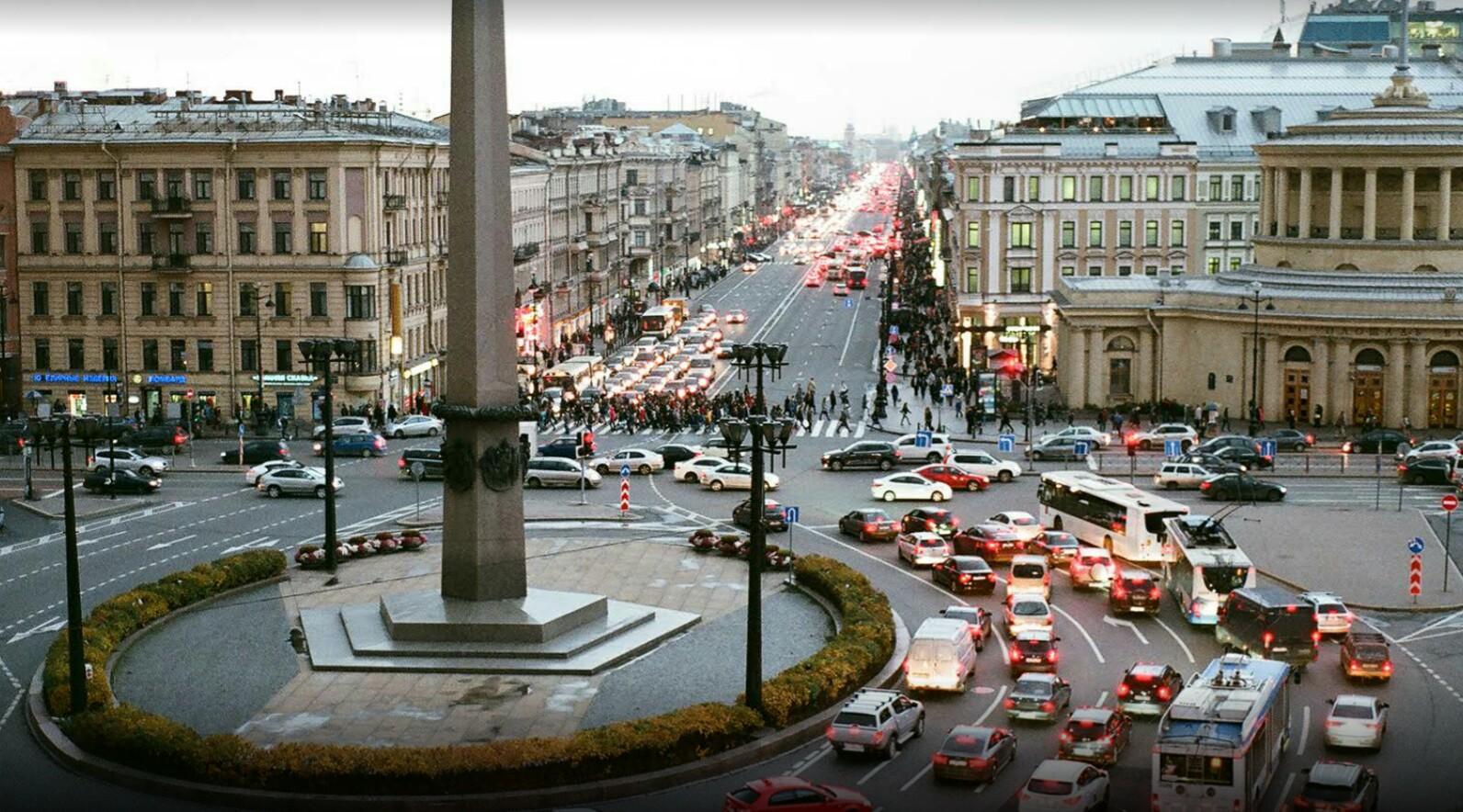 Площадь Восстания Петербург