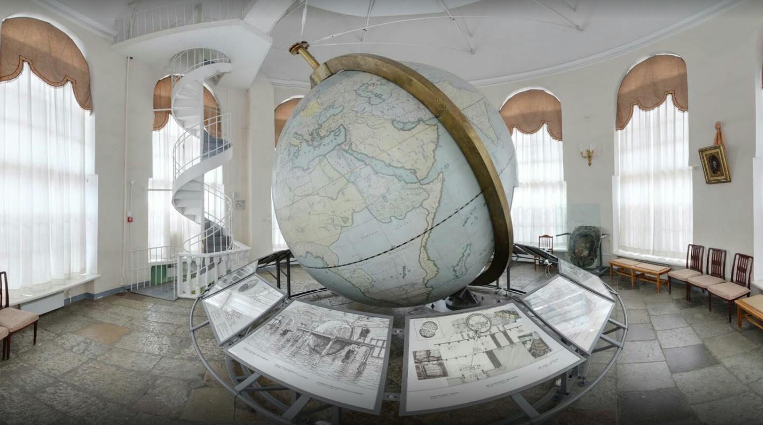 Музей Ломоносова планетарий