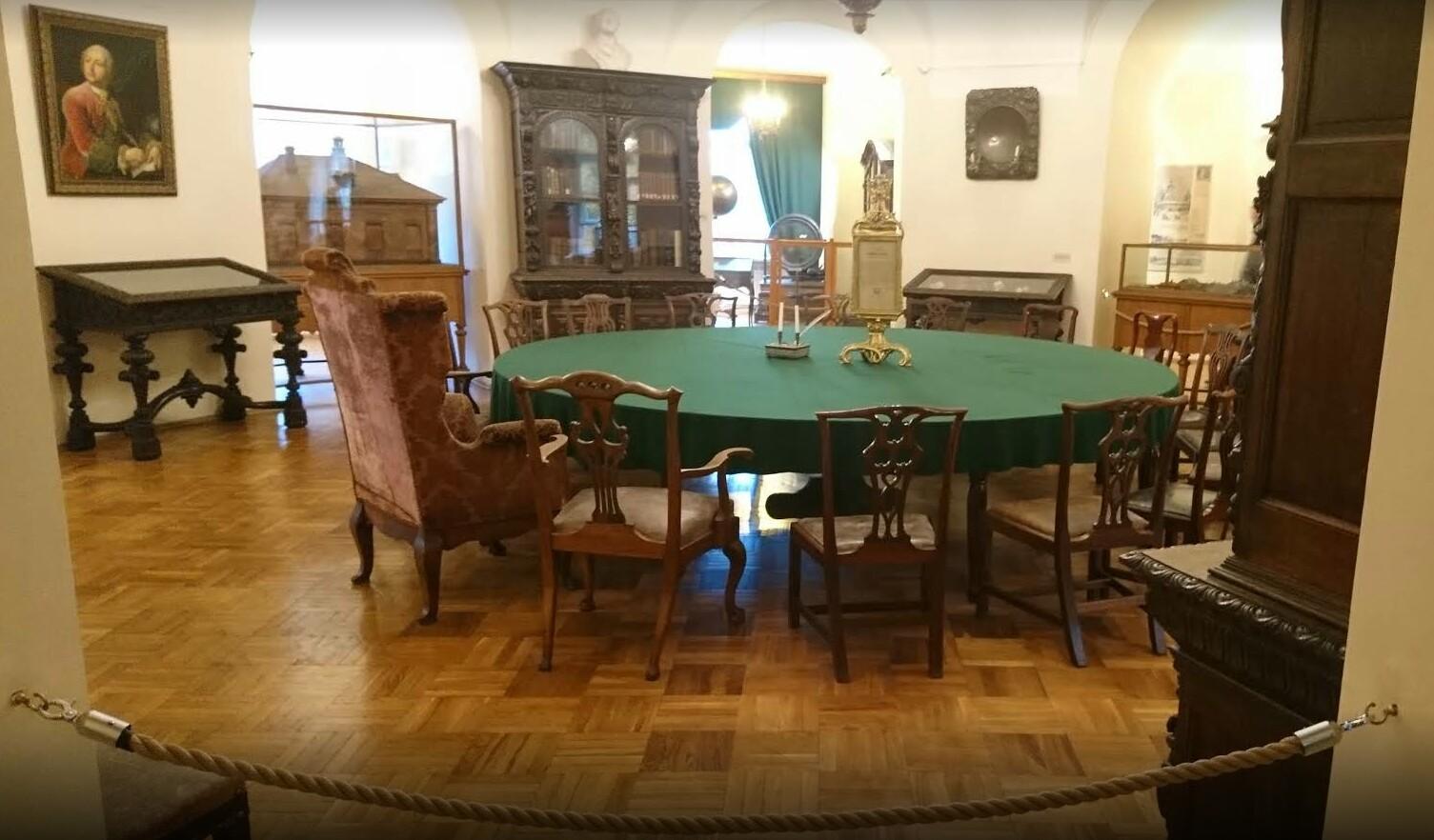 Музей Ломоносова кабинет