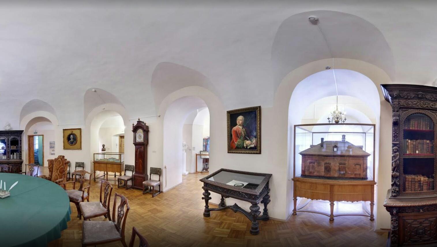 Музей Ломоносова экспозиция