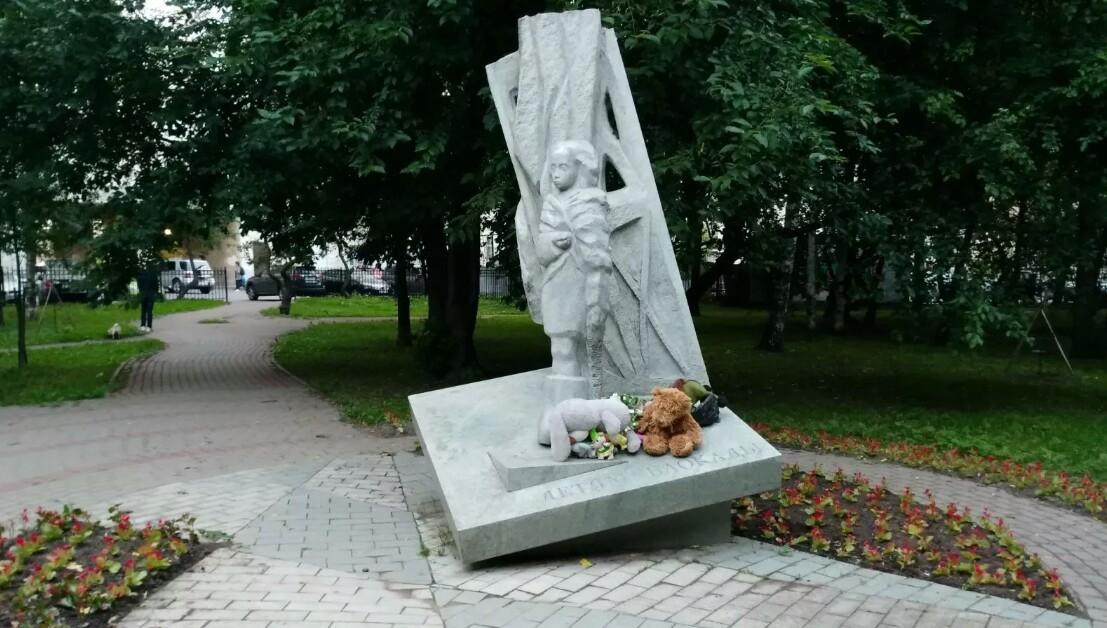 Памятник детям блокадного Ленинграда в Санкт-Петербурге