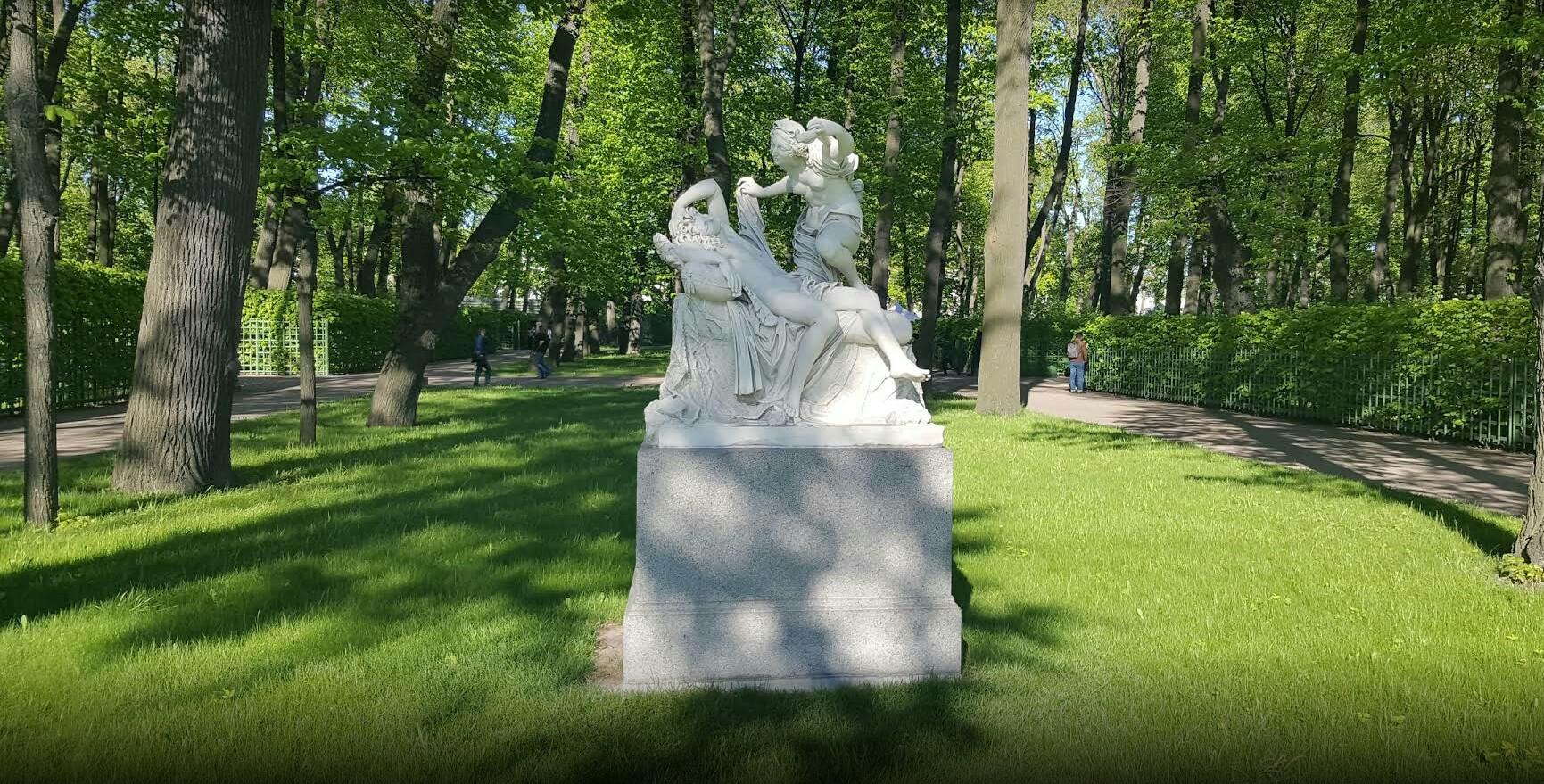 Летний сад скульптура