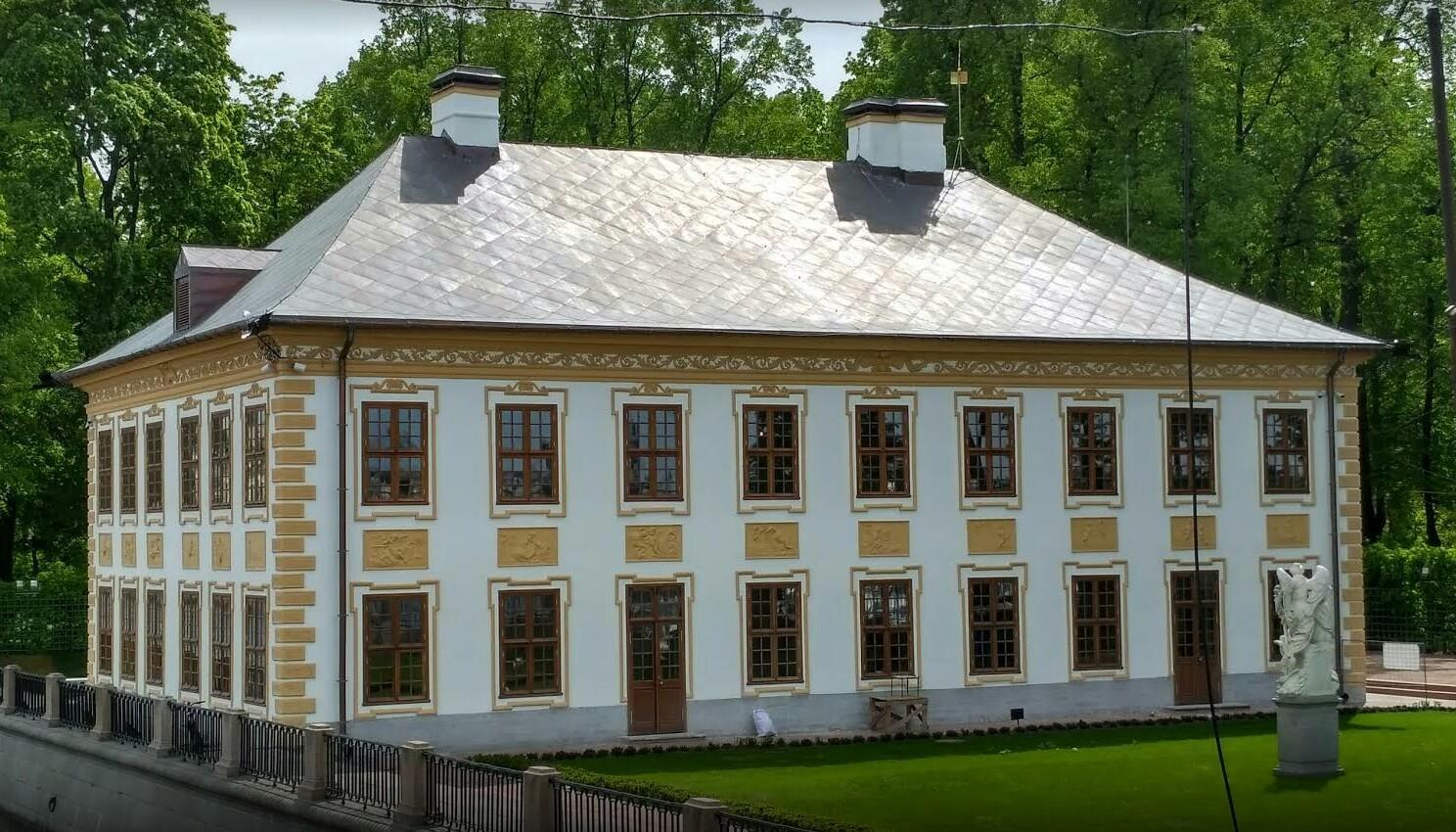 Летний дворец в Петербурге