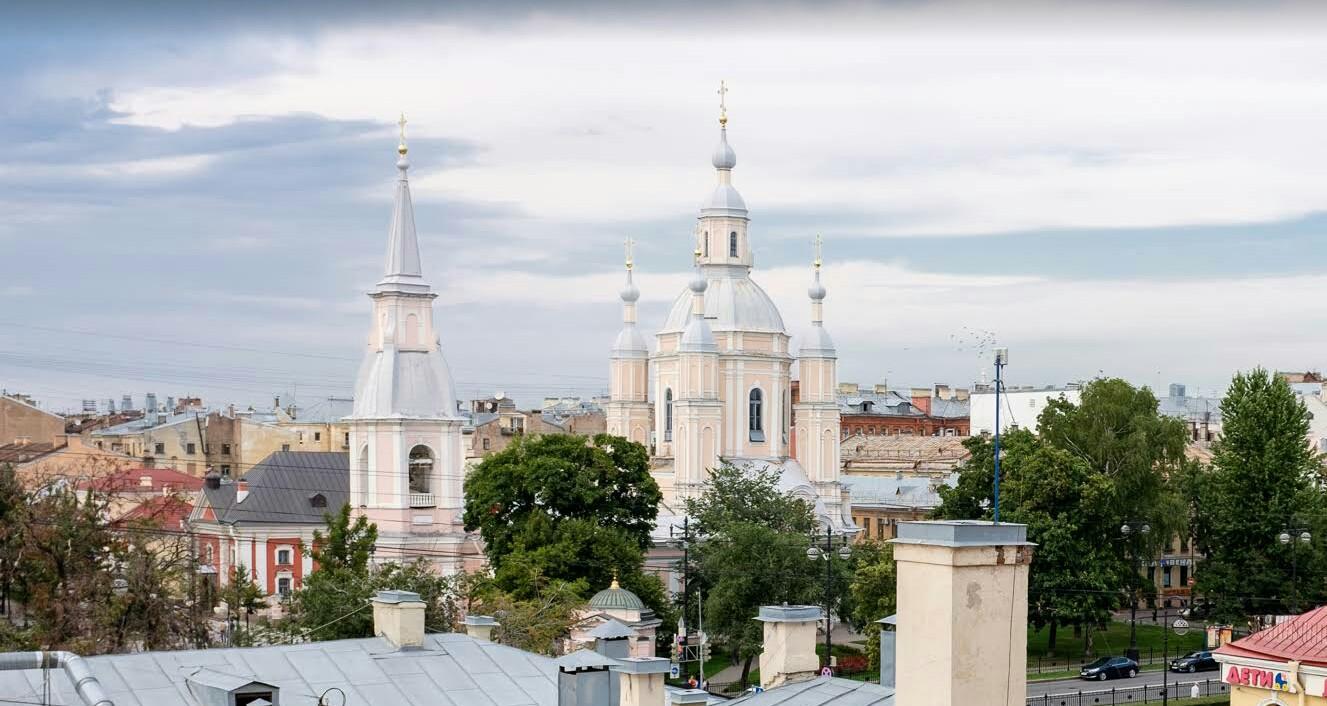 Собор Андрея Первозванного в Петербурге
