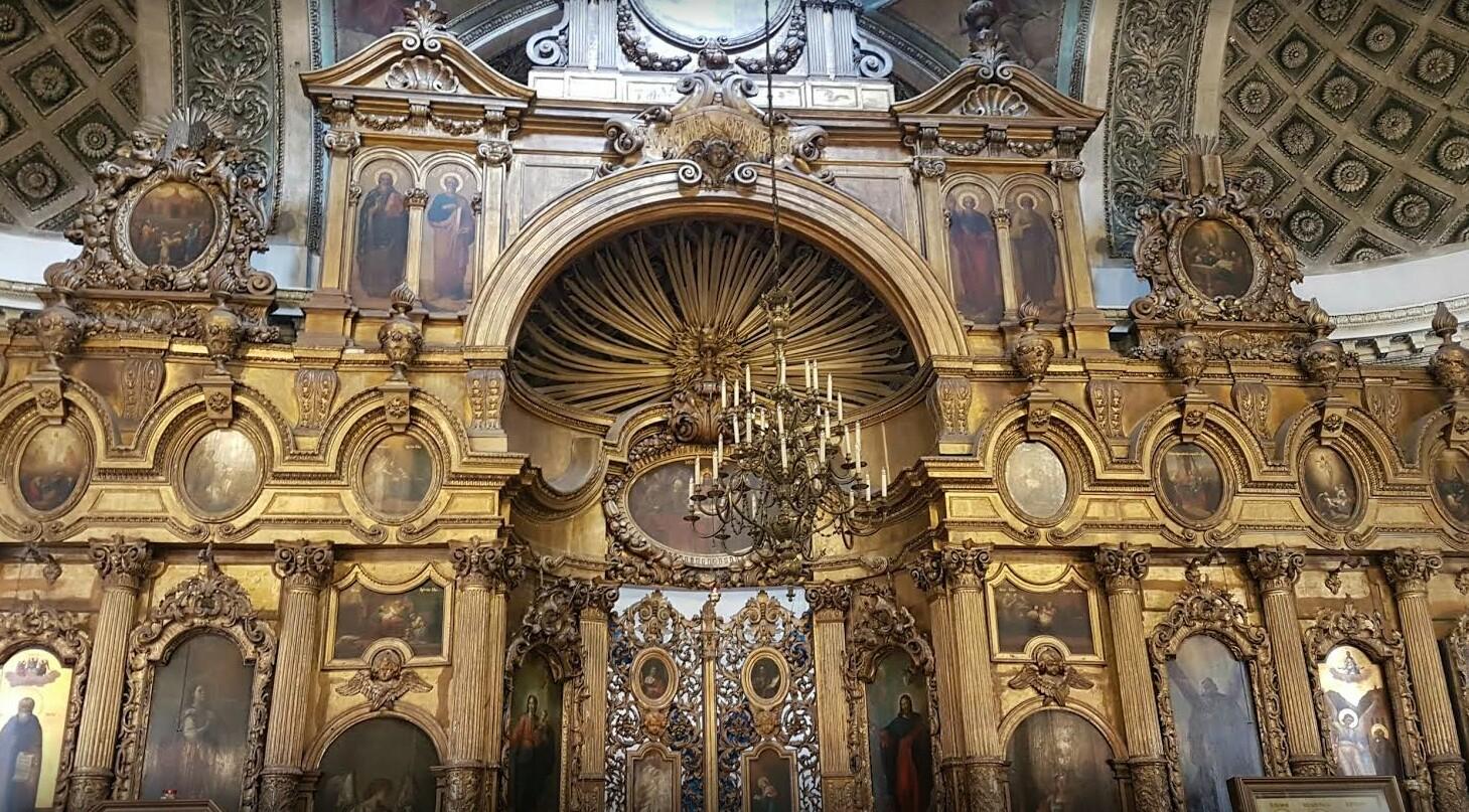 Андреевский собор иконостас