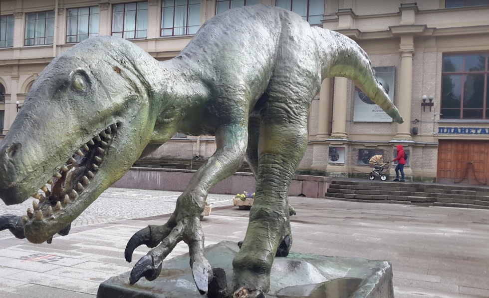 Планета динозавров в Планетарии