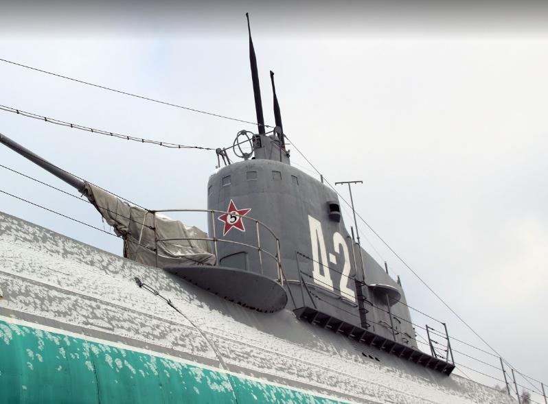 """Музей подводная лодка Д -2 """"Народоволец"""""""