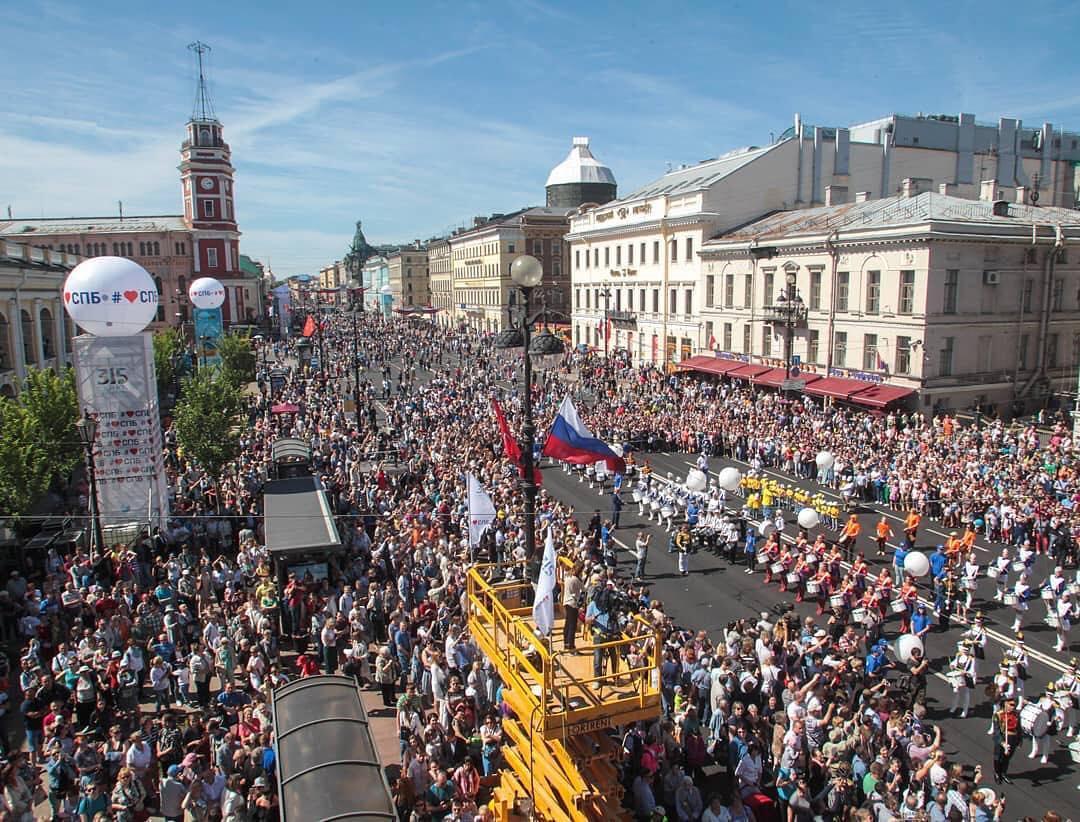 День Города в Петербурге
