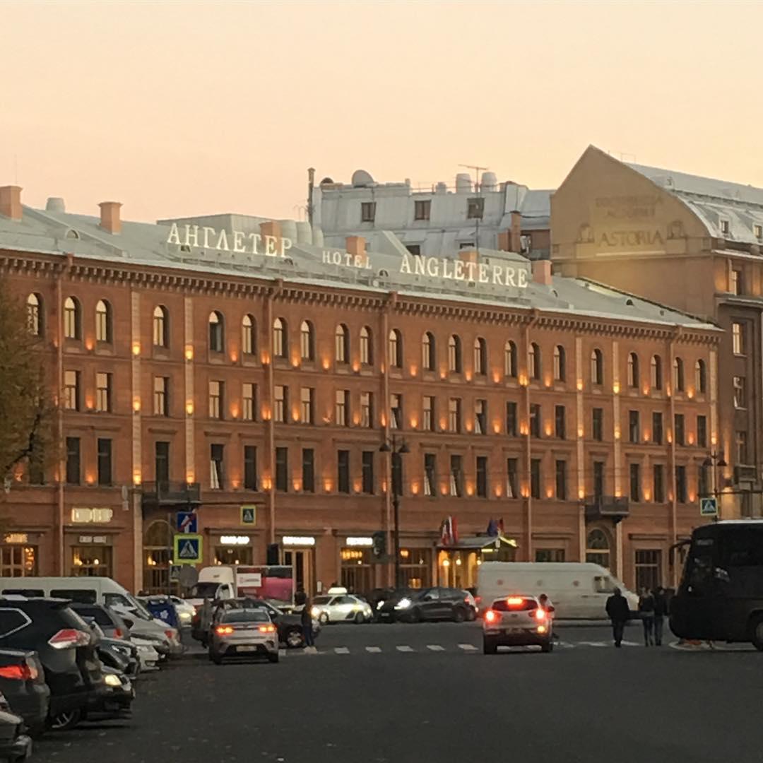 Отель Англетер в Петербурге