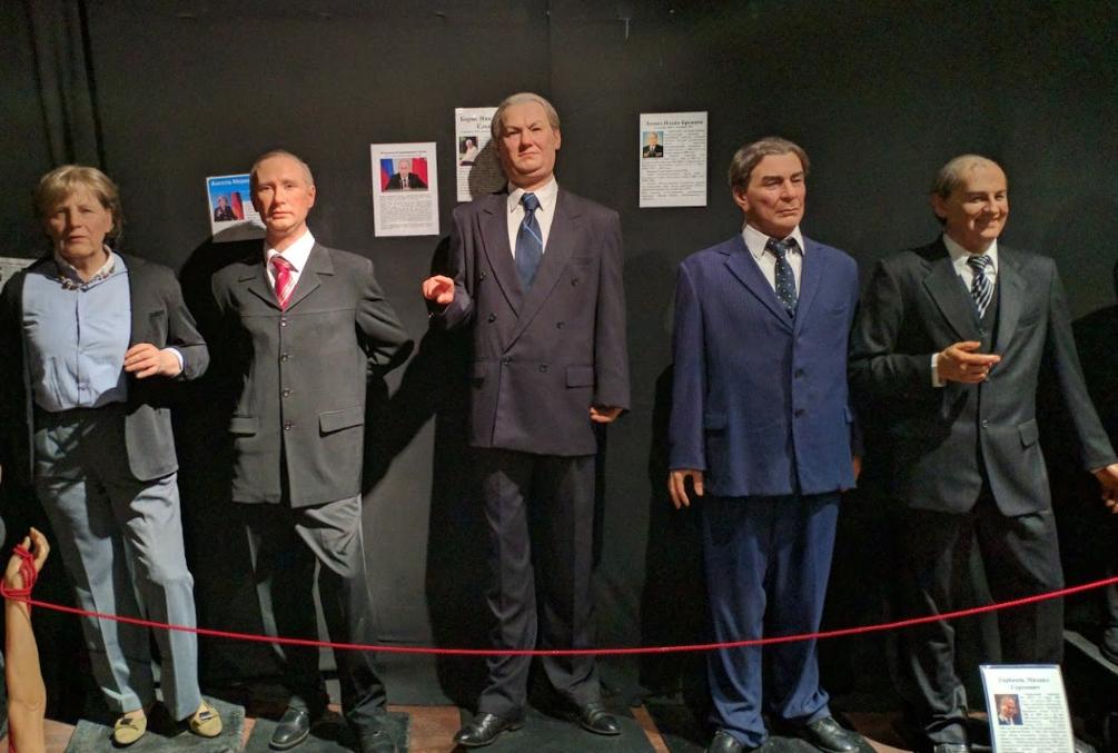 Музей восковых фигур на Большой морской