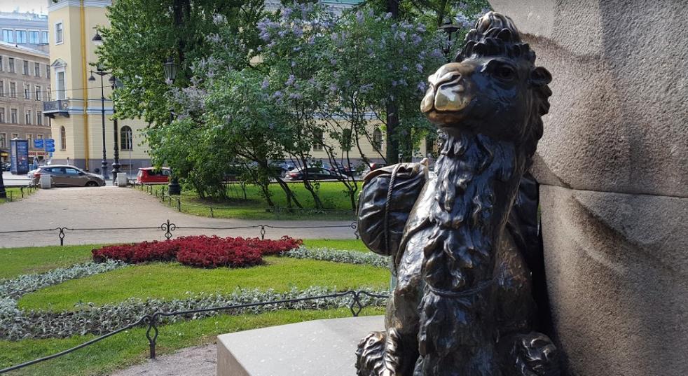 Александровский сад памятник Пржевальскому