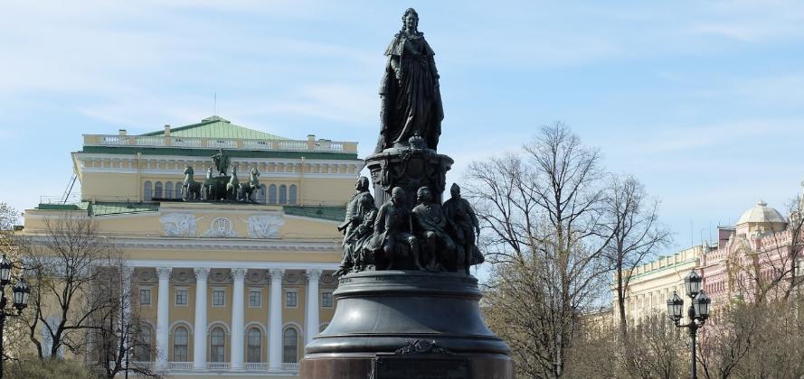Екатерининский сад СПб