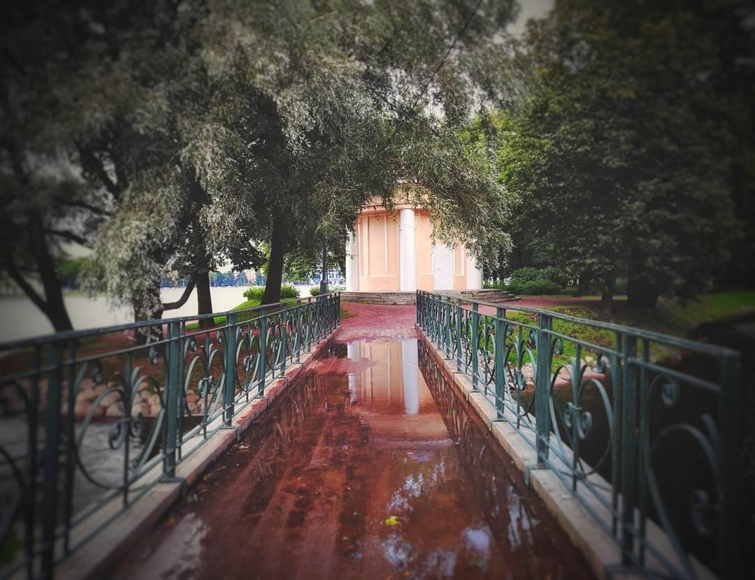 Лопухинский сад Петербург