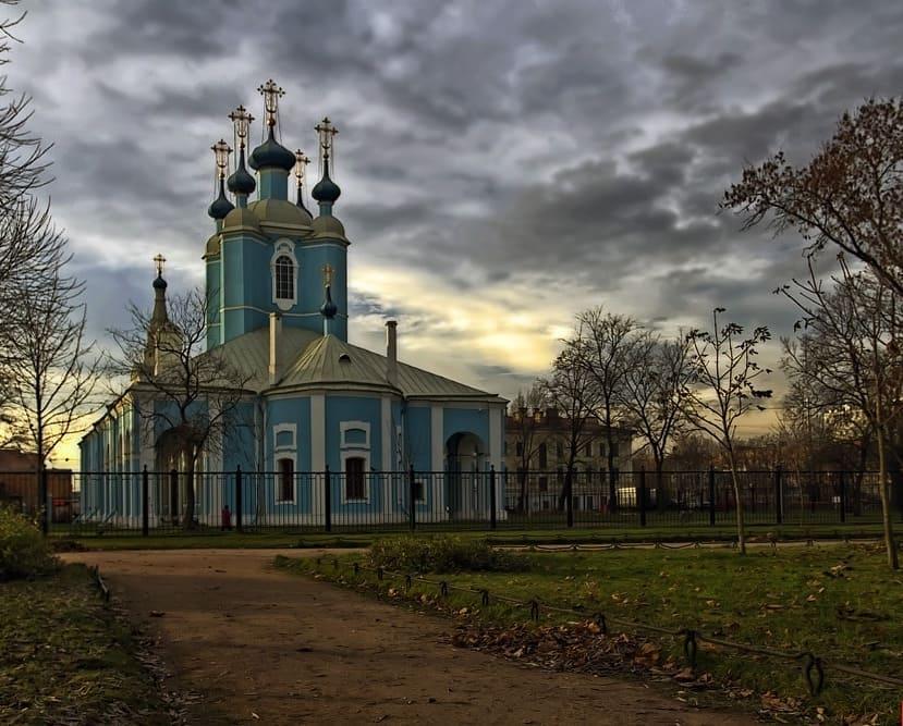 Сампсониевский собор СПб