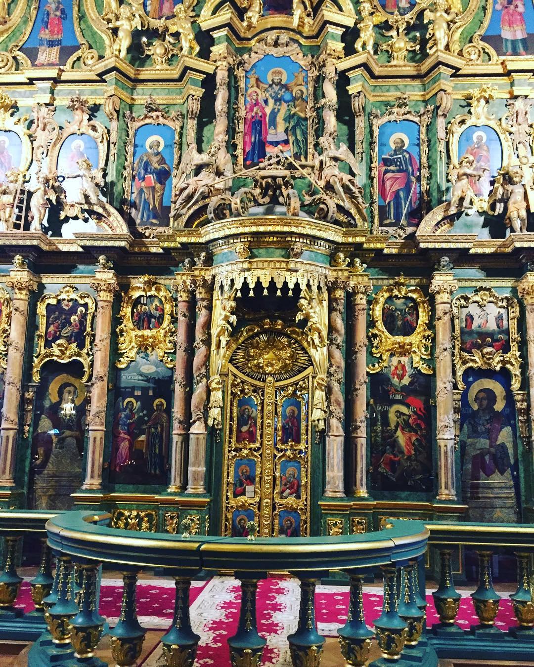 Сампсониевский собор внутреннее убранство