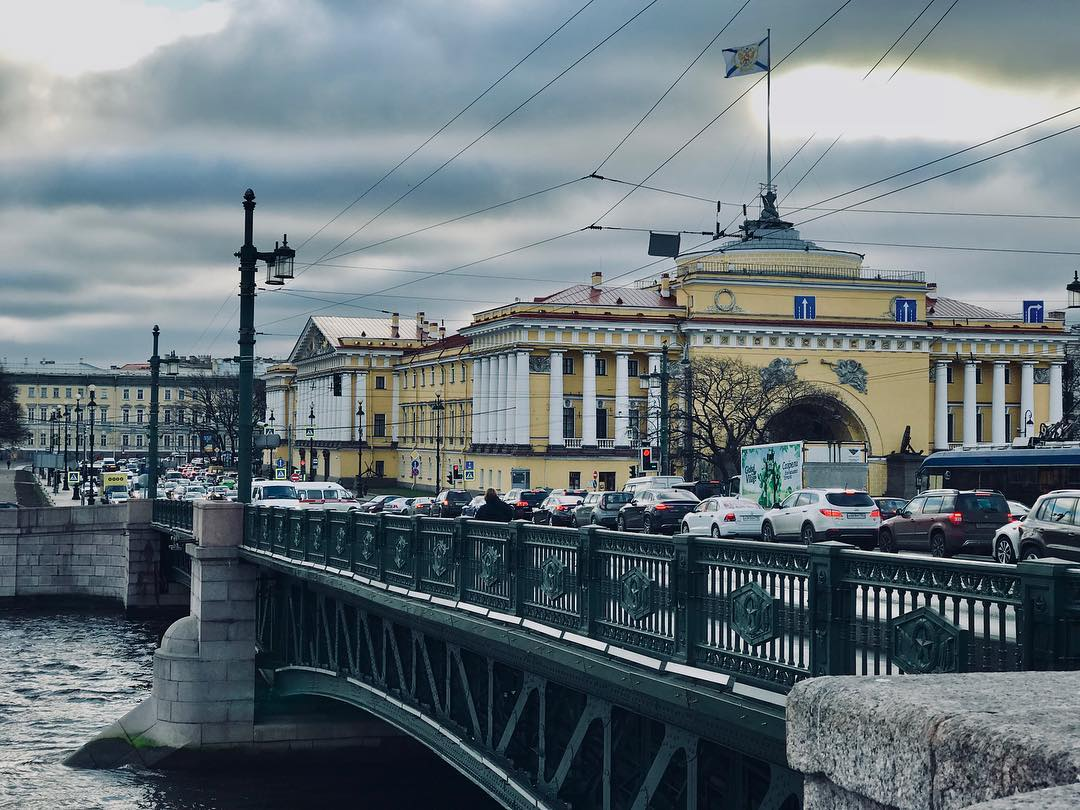 Троицкий мост спб