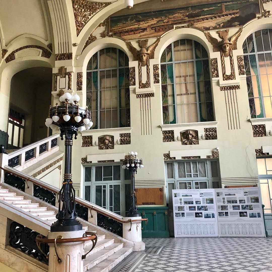 Интерьер Витебского вокзала