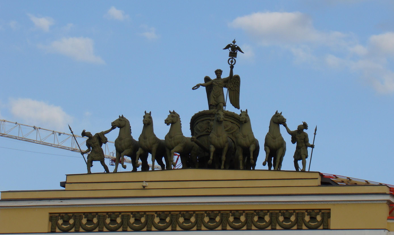 Дворцовая площадь Триумфальная арка