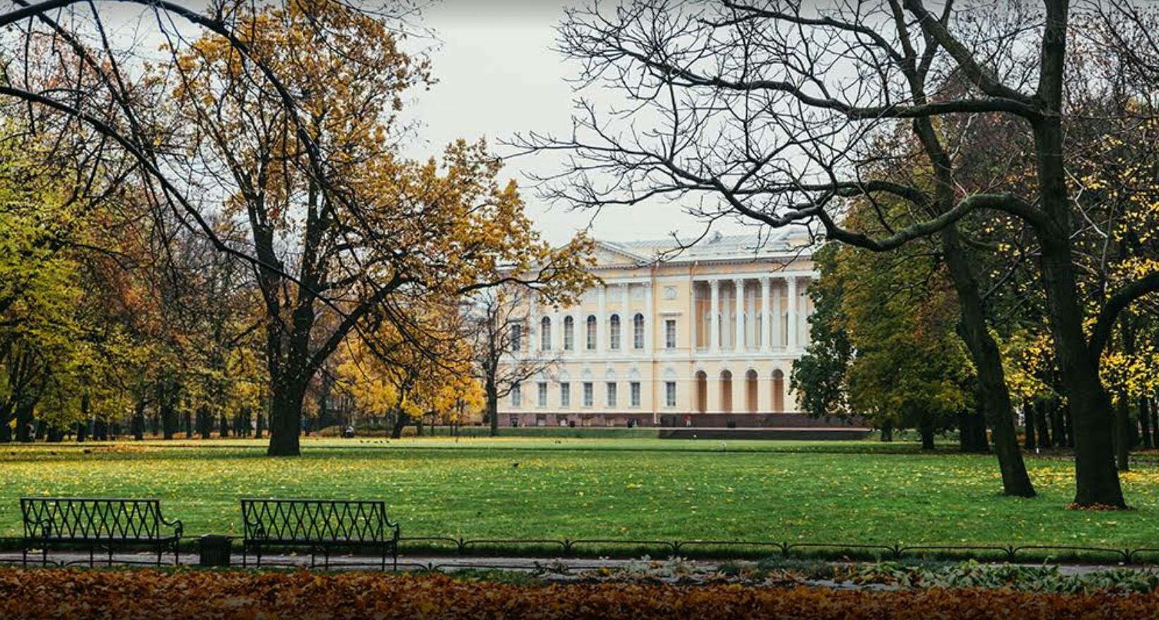 Михайловский сад в Петербурге
