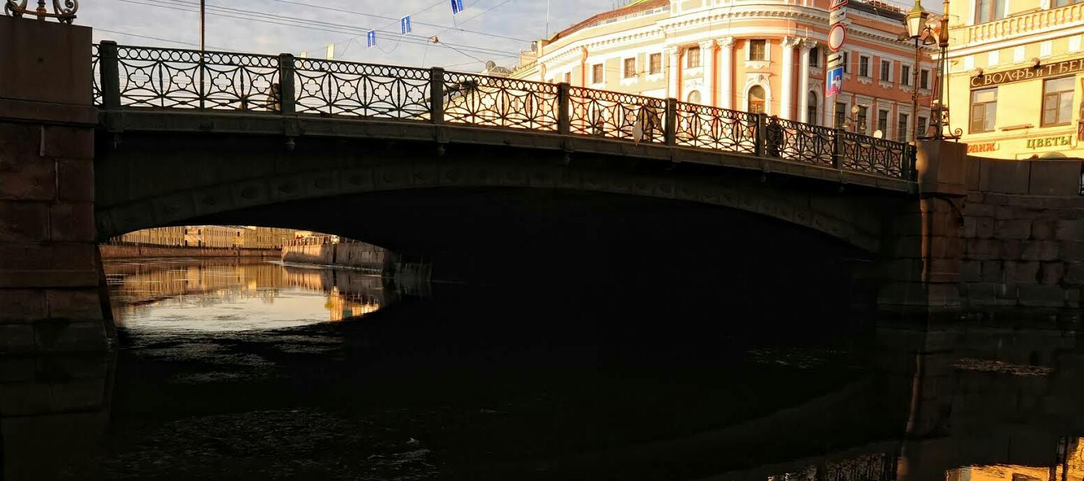 Зелёный мост спб