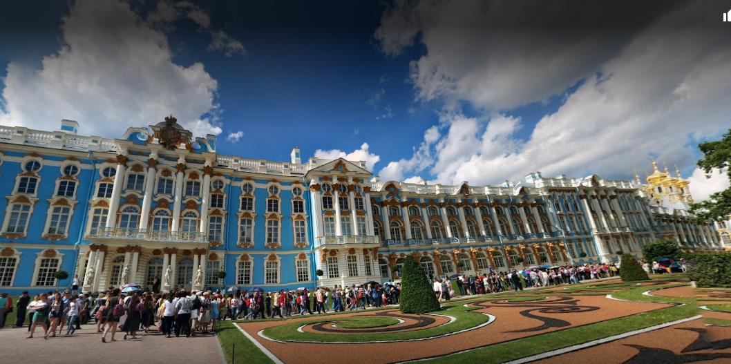 Екатерининский дворец - бывший императорский дворец