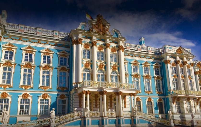 Екатерининский дворец в селе Пушкин