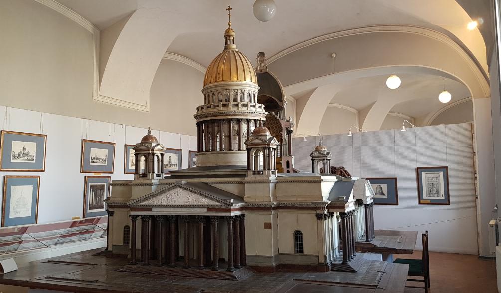 Проектная модель Собора Исаакия Далматского в Санкт-Петербурге 1818-1821 гг.