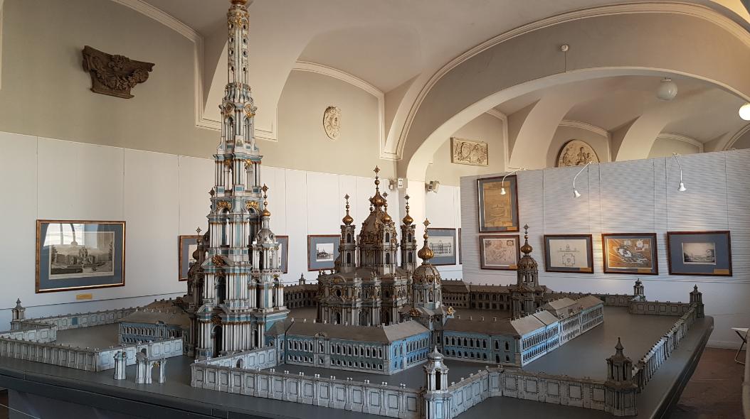 Проектная модель Николо-Богоявленского Морского Собора в Санкт-Петербурге
