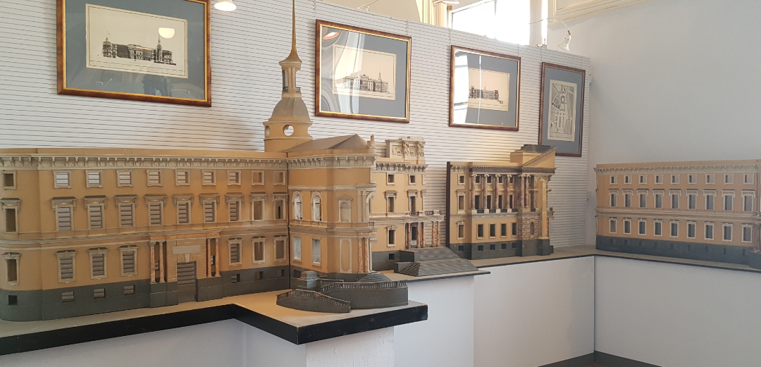 Проектная модель Михайловского или Инженерного замка