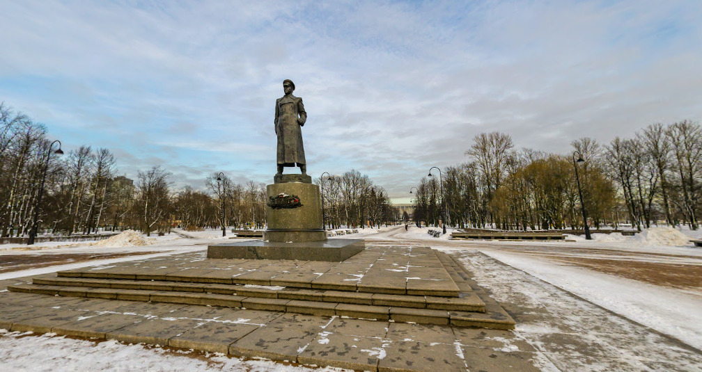 Памятник маршалу К. Г. Жукову