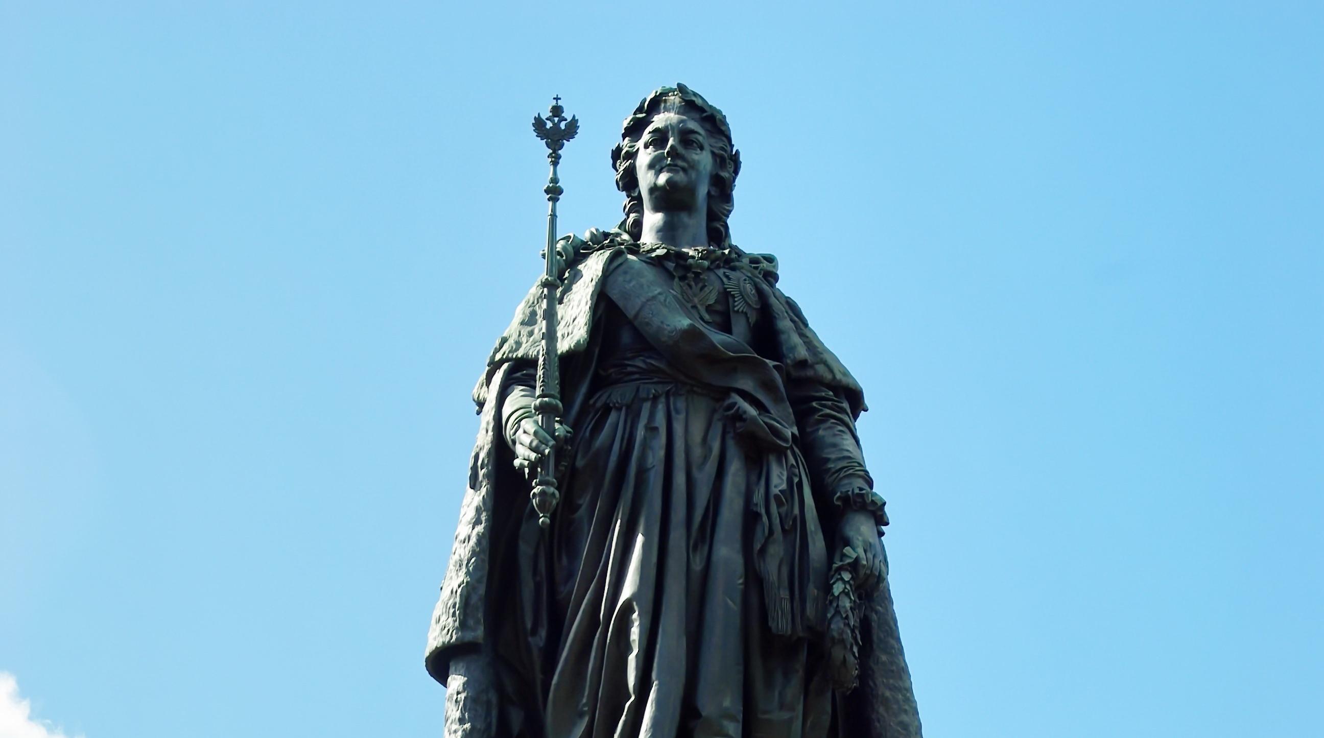 Екатерининский сад памятник