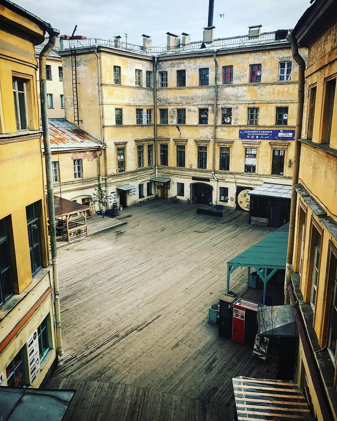 Лофт Голицын двор фото