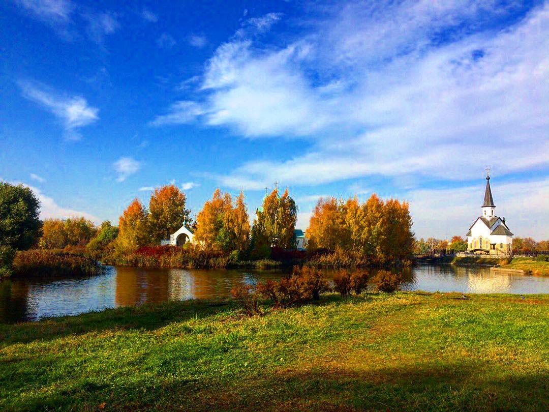 Пулковский парк СПб