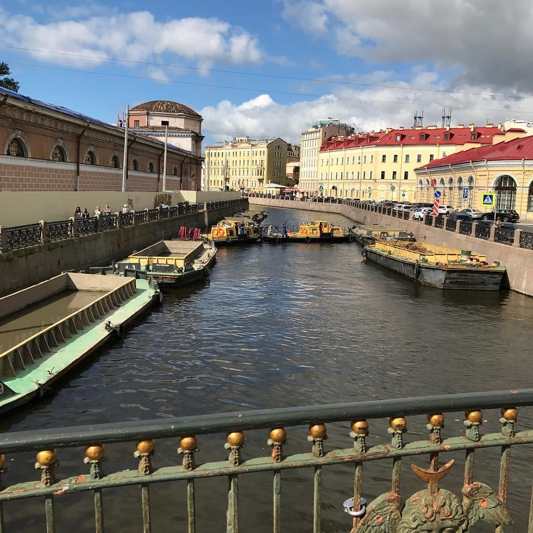 мосты через реку Мойка
