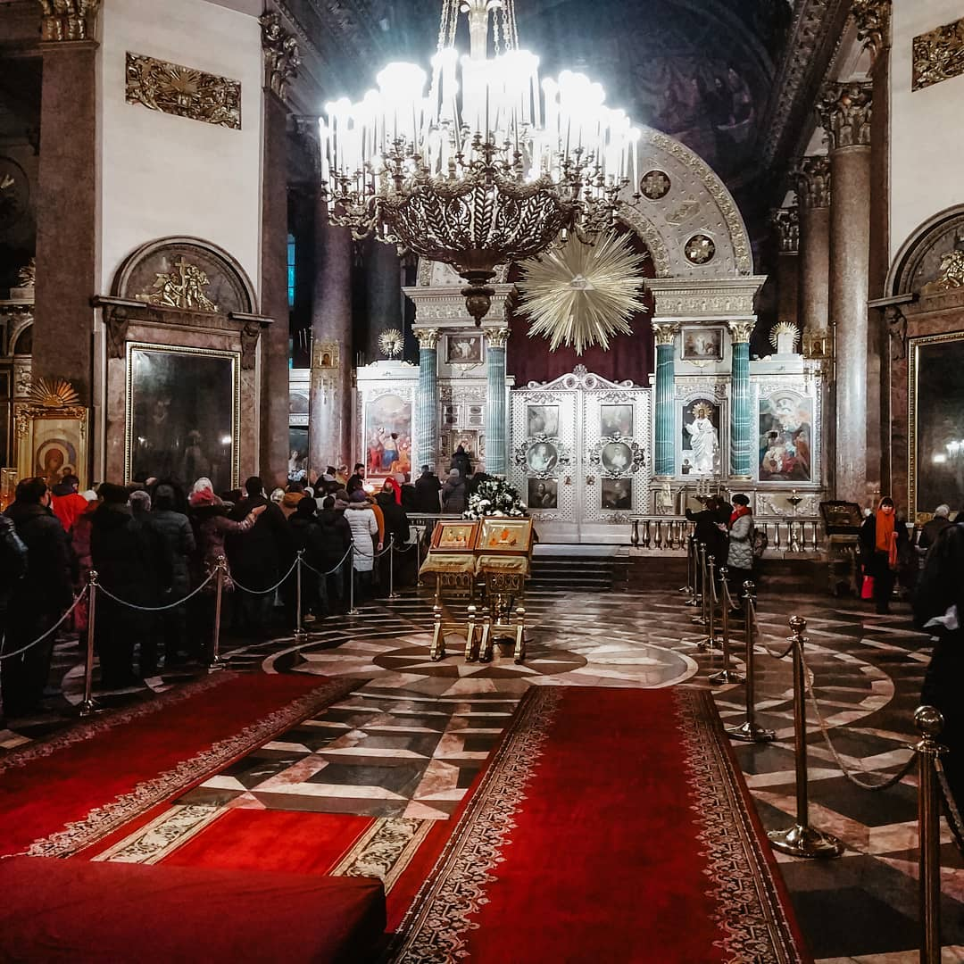 внутреннее убранство Казанского собора